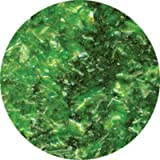 Green Edible Glitter Flakes by Ck Products 1 oz