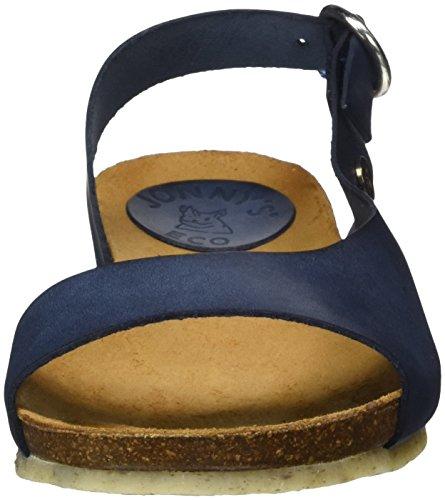 Jonny's Women's Nina Open Toe Sandals Blue (Petrol 004) hJ0bZ