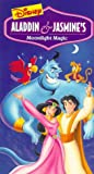 Aladdin & Jasmine's Moonlight Magic [VHS]
