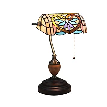 Amazon.com: Yd&h Tiffany Style Table Lamp Retro Pastoral ...