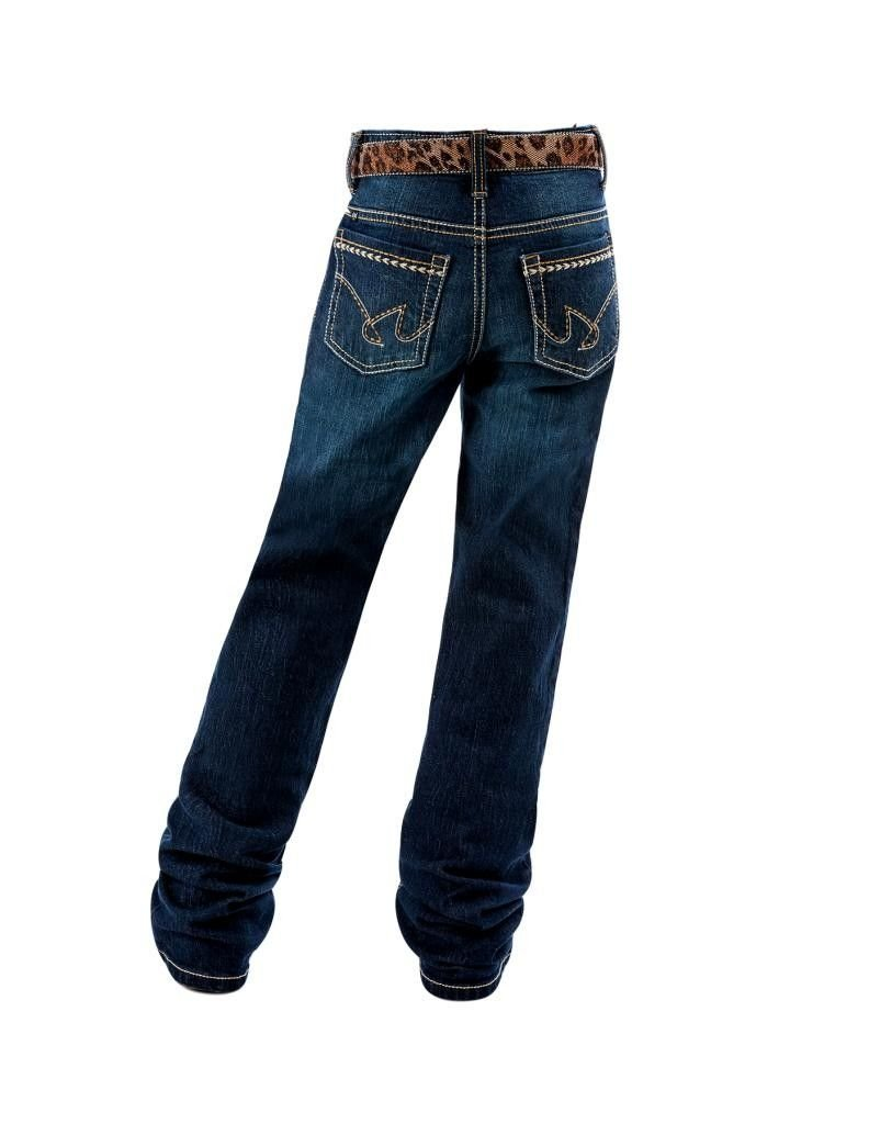 Cruel Girl Western Denim Jeans Girls Lucy Mid 8 Slim Dark CB22971001 by Cruel Girl (Image #2)