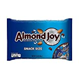 ALMOND JOY, Chocolate Coconut Candy Bar, Snack Size, 11.3 Ounce Bag (Pack of 6)