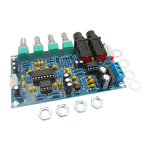 1 Piece Power amplifier board karaoke reverberator reverberator microphone amplifier board cool me K song equipment by Dong Yu Yuan