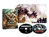 [HMV Limited] Rampage <4K Ultra HD & Blu-ray Set SteelBook Specs> (Limited Quantity / Set of 2 discs) [4K Ultra HD + Blu-Ray] [SteelBook]
