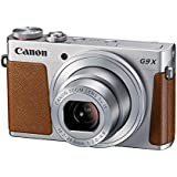 "Canon PowerShot G9 X - Cámara de bolsillo de 20.2 Mp (pantalla de 3"", zoom óptico 3x, estabilizador digital, vídeo Full HD), color gris"