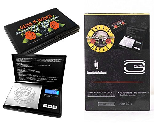 Licensed Guns N' Roses 350 x 0.1g G-Force Digital Scale