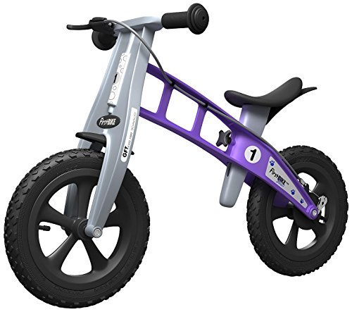 FirstBIKE Cross with Brake (Violet)