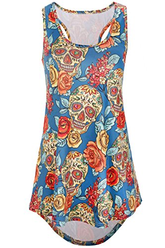 Flowers Womens Tank Top - 9