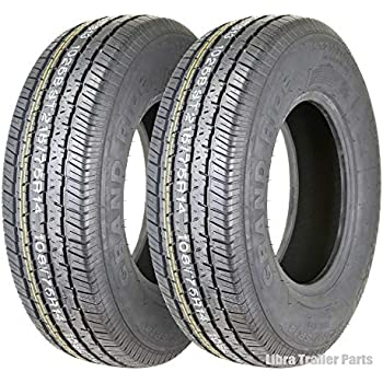 Amazon Com 2 New Premium Grand Ride Trailer Tires St 215 75r14 8pr