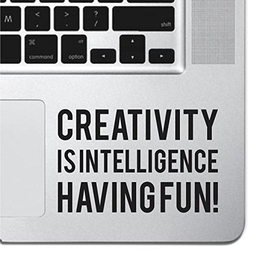 Creativity Inspirational Macbook Sticker Decal MacBook Pro Decal Air 13