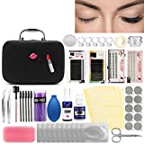 Luckyfine Pro 22pcs Eyelash Extension Kits False Lashes Tool Curl Glue With Cosmetic