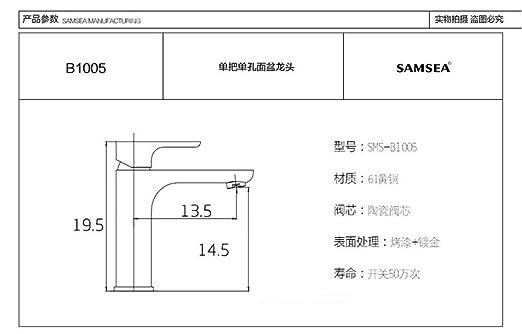 Waschbecken Mischbatterie Chrom Modern Bad Wasserhahn Waschbecken