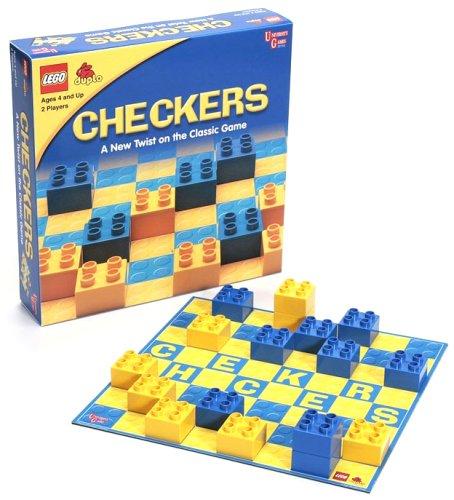 University Games 01753 LEGO Checkers