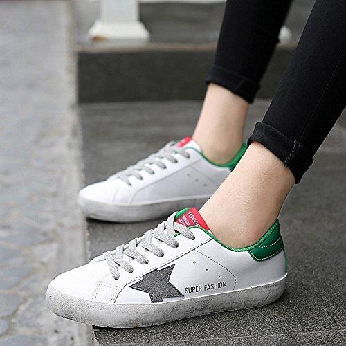 Di Bianco Sporche YTTY Confortevole Scarpe Tendenza Di Traspirante Scarpe verde Sporche Casual Di Urbane Scarpe assortito Moda Coppia OqAZA