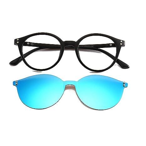 Gafas de sol de una sola pieza sin marco con lentes ...