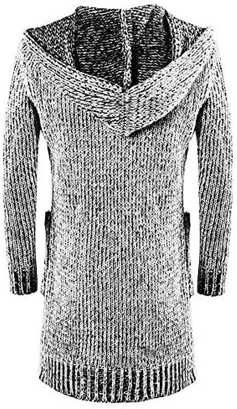 Elodiey Jacke Lang Herbst Strickjacke Einfarbig Męskie Slim Farbe 3 Revers Winter Mantel Fit Männer Stricken Business Cardigan Outwear: Odzież