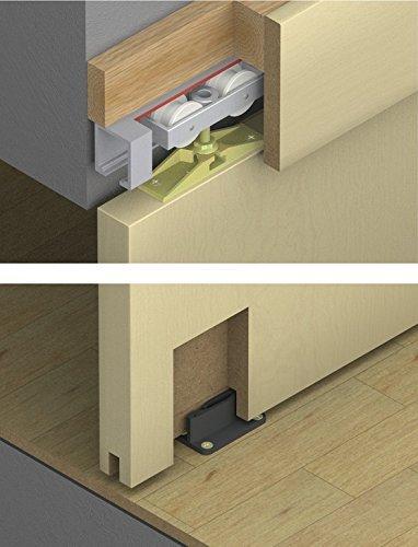 Hafele Sliding Door Hardware Hawa Junior 80/Z, 940.80.001, Without The