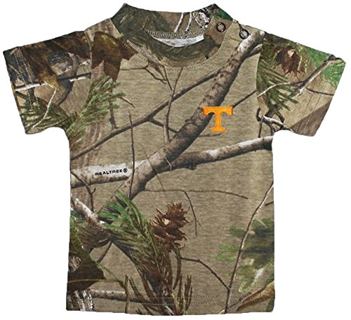 Creative Knitwear Tennessee Volunteers Camouflage NCAA College Newborn Baby T-Shirt Tee (Tennessee Volunteers Camo)