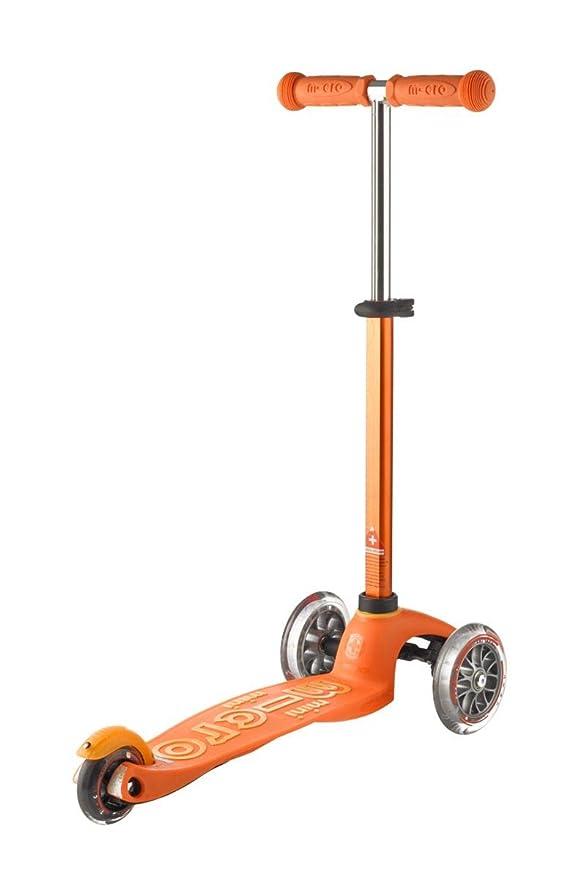 Micro Mini Patinete Deluxe, Naranja (Micro Mobility MMD008 ...