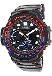 Casio G-Shock Smoke Dial Resin Digital Chrono Quartz Men's Watch GN1000-1ADR