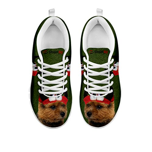 Print Casual Terrier Shoes Women's Sneakers All Choose Running Women's Norwich Your Dog Halloween Breed ZAwYqOIp