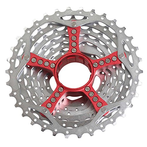 SRAM cassette PG-990 11-32 teeth 9 speed (Color: red) ()