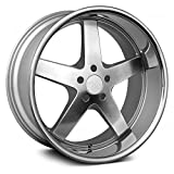 #3: XXR Wheels 968 SSC Wheel with Machined Finish and SS Chrome Lip (17x9