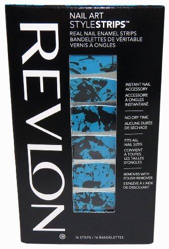 Revlon Strips splatter paint strips