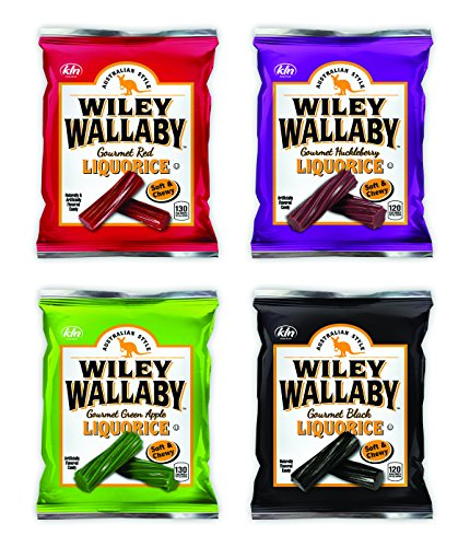 Wiley Wallaby Australian Licorice Variety Gift Box (Licorice Gift)