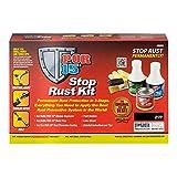 POR-15 40909 Gloss Black Stop Rust Kit