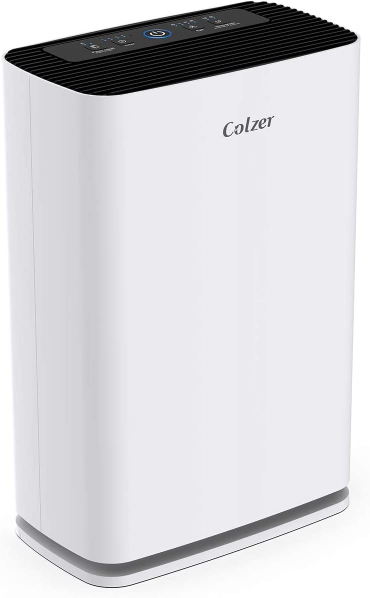 Colzer Air Purifier with True HEPA Air Filter, Air Purifier for Large Room, for Spaces Up to 800 Sq Ft, Perfect for Home/Office with Filter