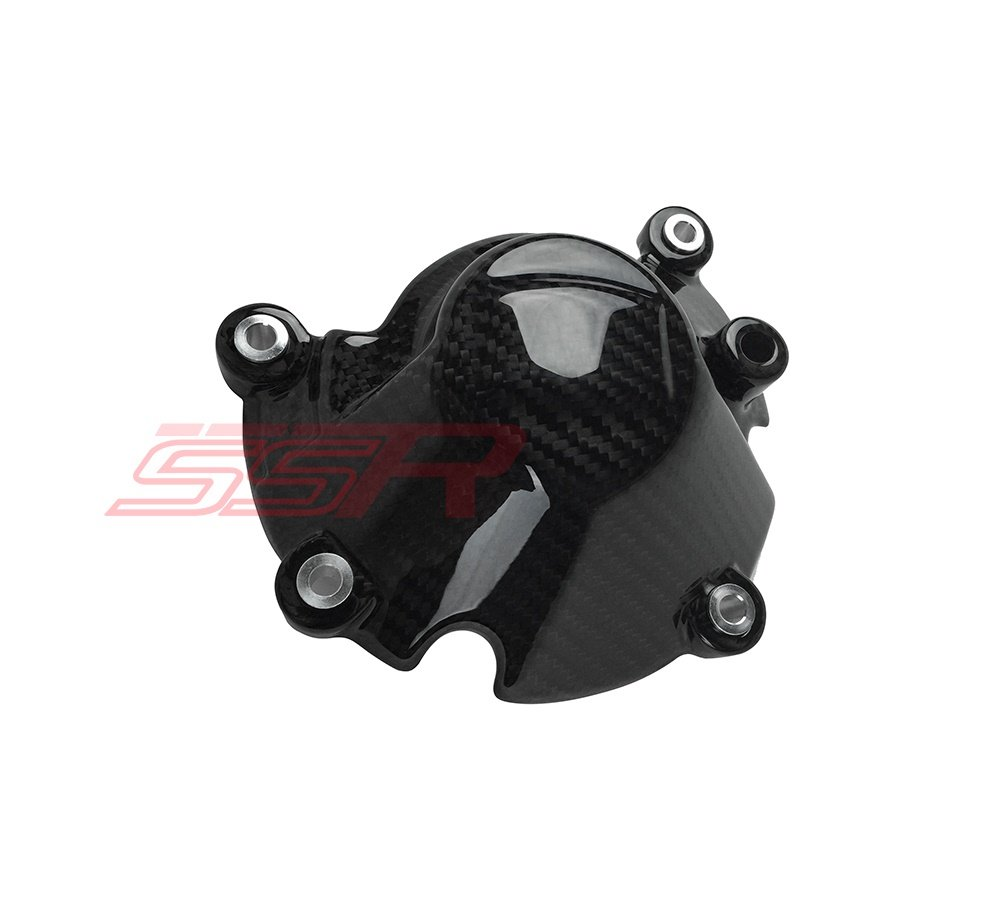 Twill Carbon Fiber Left Hand Side Engine Case Cover Guard Protector 100/% 2016 2017 Yamaha FZ10 MT10
