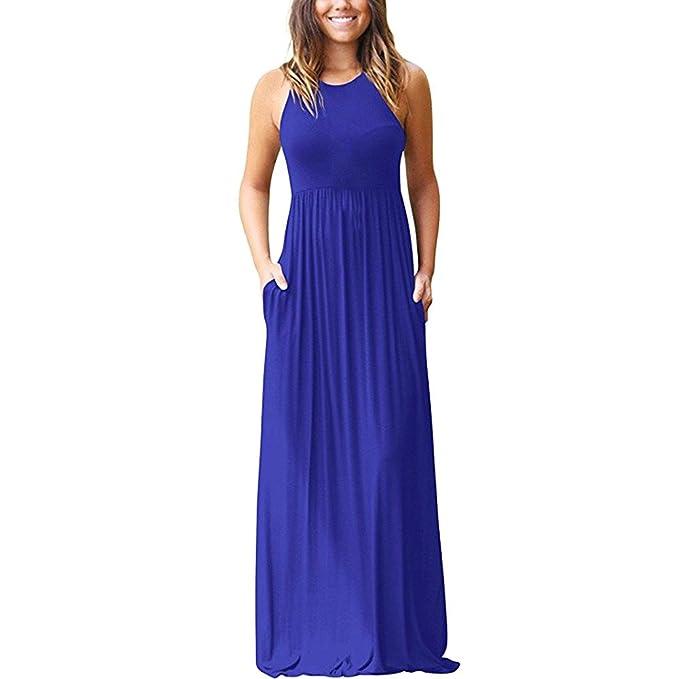 3915bcdc899a Vestiti Eleganti Lunghi Blu