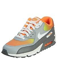 Nike Youths Air Max 90 Premium Mesh Mesh Trainers