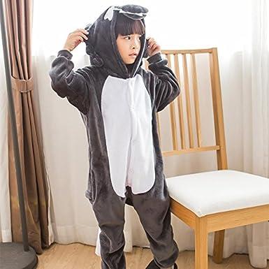 Ragazzo Bambina e Bambino ABYED Tutina Unisex Onesies Pigiama Pigiameria Sleepwear Nightclothes Cosplay Costume Animale Felpato di Carnevale