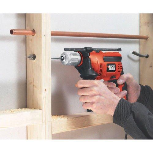Black & Decker Power Tools DR670 6.5 Amp 1/2'' Corded VSR Hammer Drill