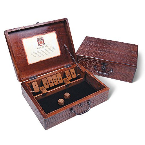 The Classic Shut The Box Game by University Games