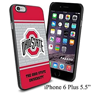 NCAA O THE OHIO STATE UNIVERSITY , Cool iphone 6 4.7 Smartphone Case Cover Collector iphone TPU Rubber Case Black