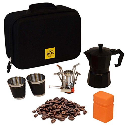 Compact Portable Coffee Maker Kit for Coffee Lovers – Camp