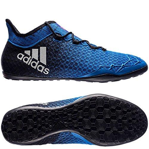 adidas X Tango 16.1 In, para los Zapatos de Entrenamiento de Fútbol para Hombre, Azul (Blu Azul/Ftwbla/Negbas), 42 EU