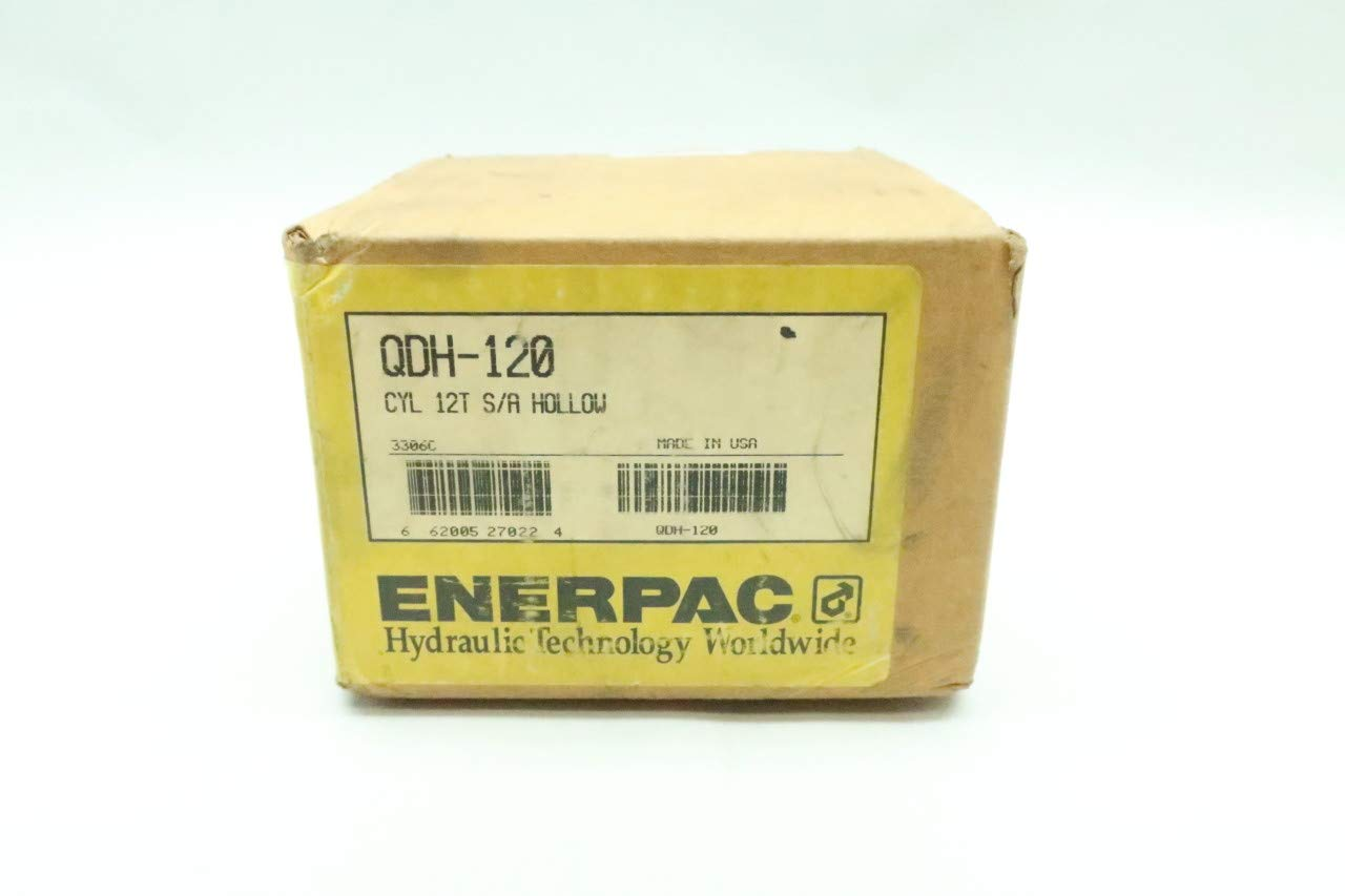 ENERPAC QDH-120 12T S/A Hollow Plunger 1/2IN 10000PSI 0.32IN