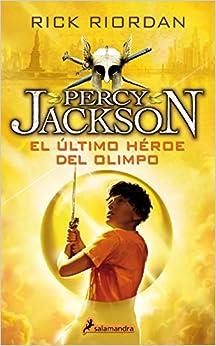 Ultimo Heroe Del Olimpo -rtca.nva.portada-(percyv) por Rick Riordan epub