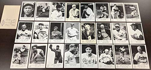 1963 Hall of Fame Picture Pack Complete 24 photo set w envelope NM - Fame Football Of Hall 1963