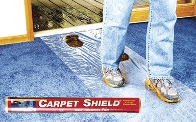 Surface Shields Inc. 24in. X 50 Clear Carpet Shield CS2450W