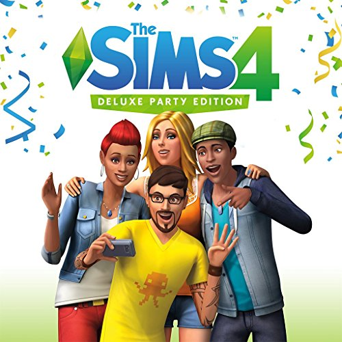 The Sims 4 Deluxe Party Edition - PS4 [Digital Code] by Electronic Arts
