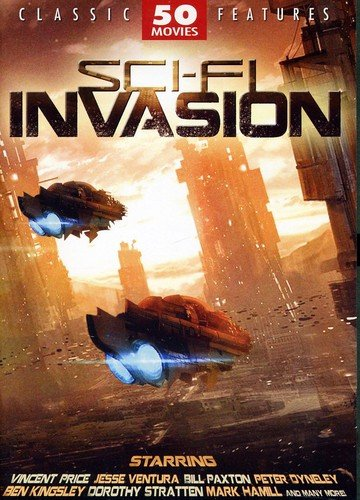 Sci-Fi Invasion - 50 Movie Pack:...
