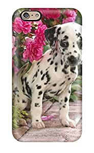 Unique Design Iphone 6 Durable Tpu Case Cover Dalmatian