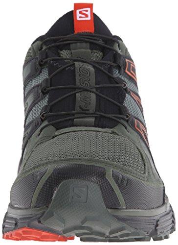 Vert black Forest night mission 3 running Orange Sneakers Salomon X Trail Homme solar fqw06fv