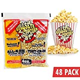 Case (48) 4oz popcorn portion bags
