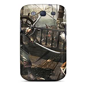 Hot New Assassins Creed Iv: Black Flag Case Cover For Galaxy S3 With Perfect Design